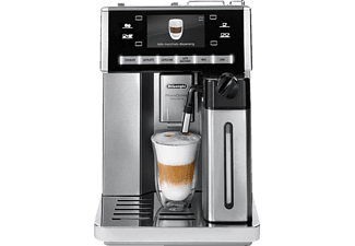 DELONGHI Prima Donna Exclusive ESAM 6900  Kaffeevollautomat Silber
