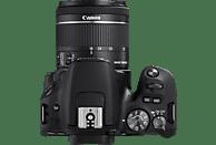 CANON EOS 200D Kit Spiegelreflexkamera, 24.2 Megapixel, Full HD, 18-55 mm Objektiv (EF-S, IS, STM), Touchscreen Display, WLAN, Schwarz