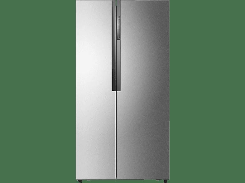 HAIER HRF 522 DG7  Side-by-Side (332 kWh/Jahr, A++, 1790 mm hoch, Edelstahl)
