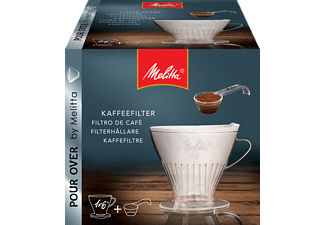 MELITTA 1x6® Kaffeefilter Transparent