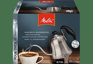 MELITTA 6761026 Pour Over Wasserkessel Edelstahl/Schwarz