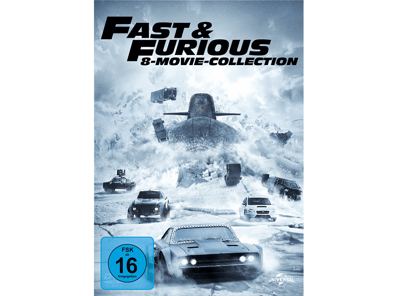 Fast & Furious - 8-Movie Collection [DVD]