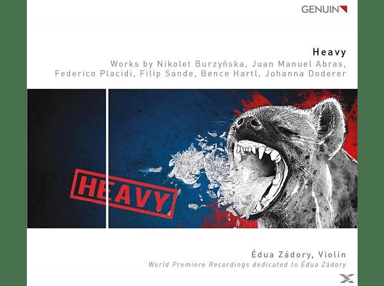 Edua Zádory - Heavy-Werke für Violine [CD]