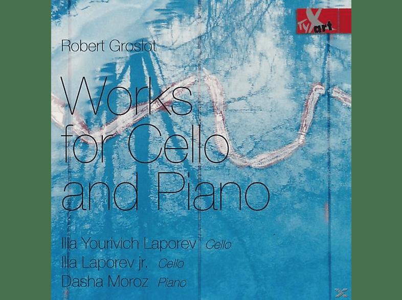 Ilia Yourivich Laporev, Ilia Yourivich Laporev jr., Dasha Moroz - Werke für Cello und Klavier [CD]
