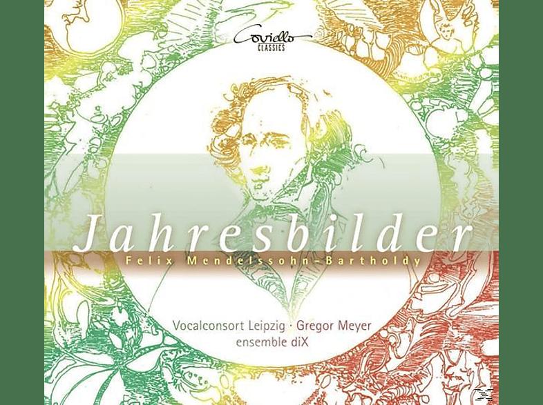 Gregor/vocalconsort Leipzig/ensemble Dix Meyer - Jahresbilder-Lieder und Klavierwerke [CD]