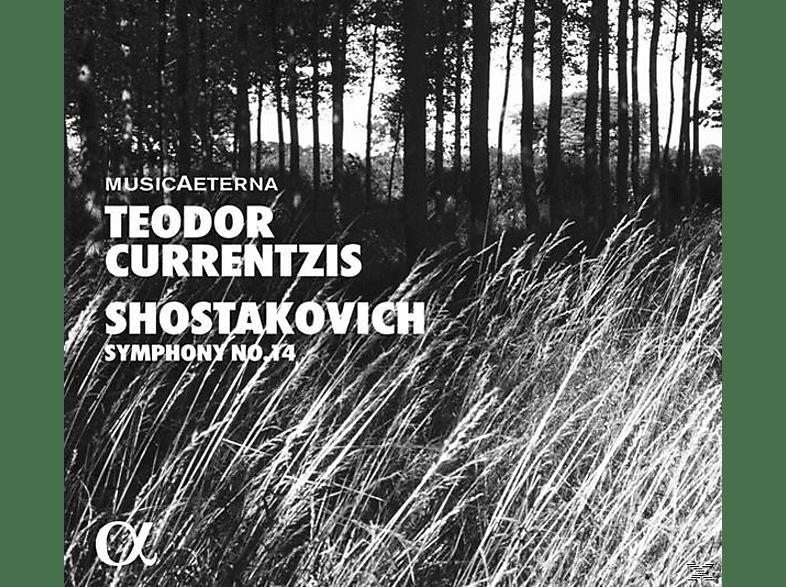 Teodor/musicaerterna Currentzis - Sinfonie 14,op.135 [CD]