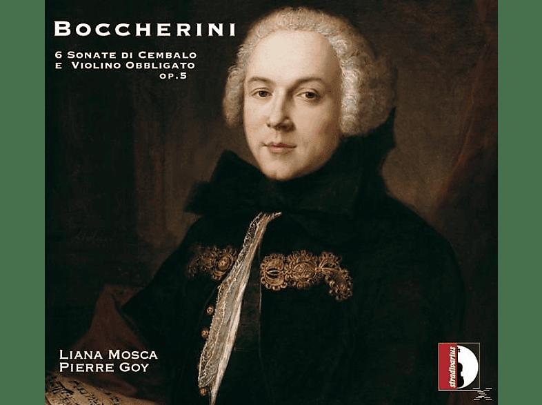 Liana Mosca, Pierre Goy - Sonaten für Violine und Cembalo [CD]