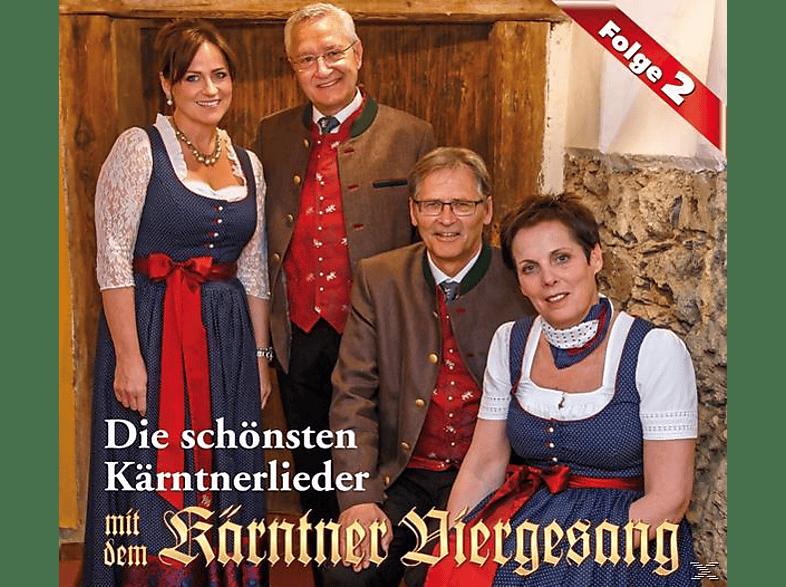 Kärntner Viergesang - Die schönsten Kärntnerlieder- [CD]