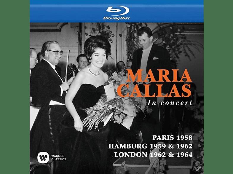Maria Callas - Maria Callas in Concert (Paris,Hamburg,London) [Blu-ray]