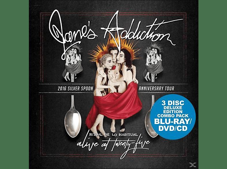 Jane's Addiction - Alive At Twenty-Five (4k Blu-Ray/DVD/CD) [CD + Blu-ray Disc]