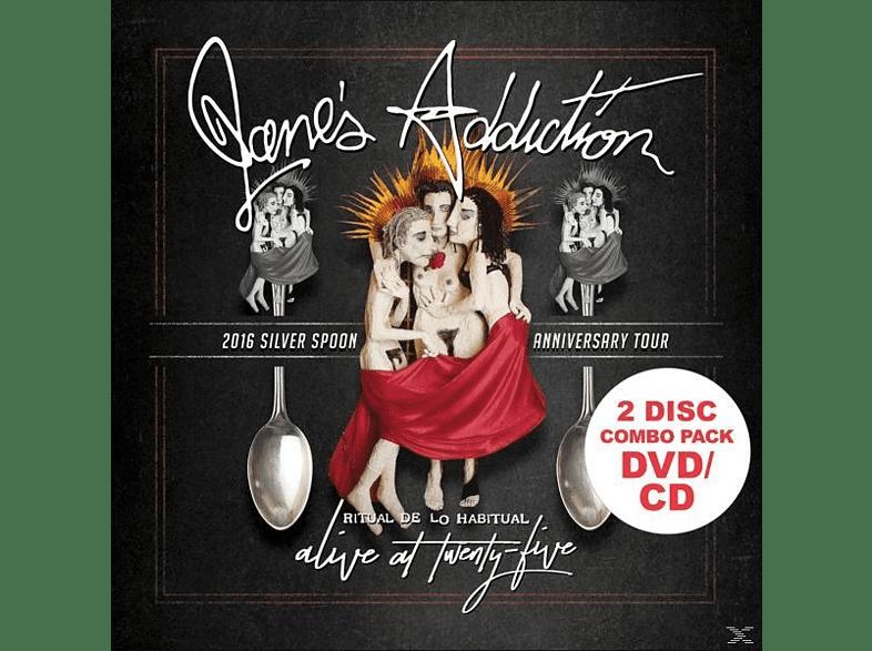 Jane's Addiction - Alive At Twenty-Five (DVD+CD) [DVD + CD]