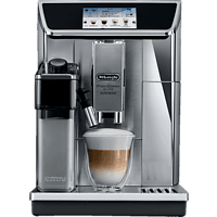 DELONGHI ECAM 656.85.MS PrimaDonna Elite Experience Kaffeevollautomat Silber/Schwarz