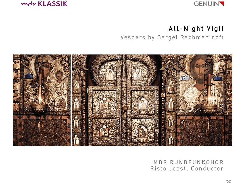 Klaudia Zeiner, Falk Hoffmann, Mdr Rundfunkchor - All-Night Vigil [CD]