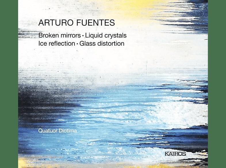 Quatuor Diotima - Broken Mirrors/Glass Distortion/Liquid Crystals/+ [CD]