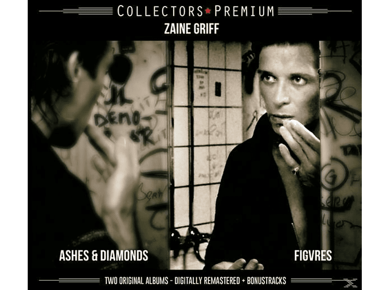 Zaine Griff - ASHES & DIAMONDS/FIGURES [CD]