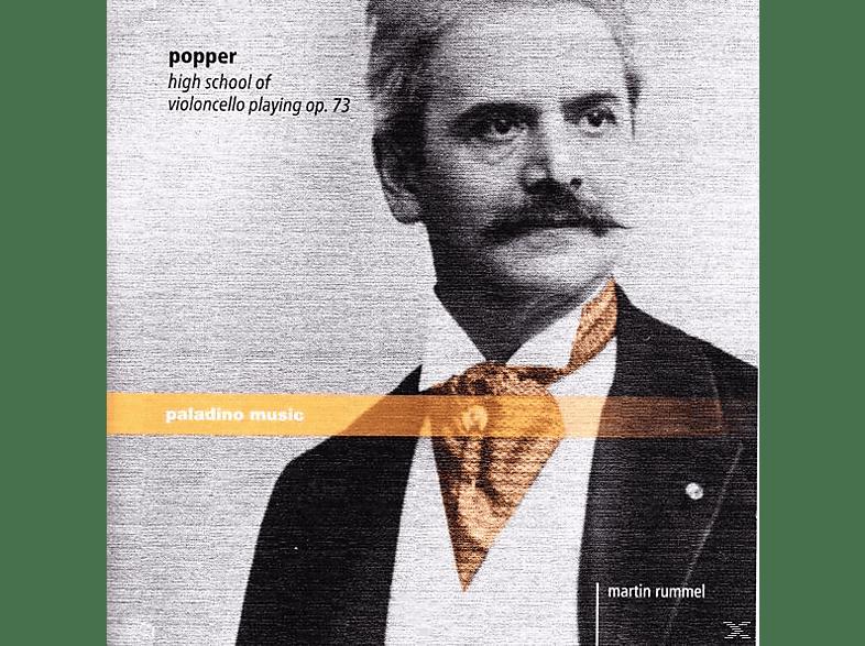 Martin Popper/rummel - HIGH SCHOOL OF VIOLONCELLO PLAYING OP.73 [CD]