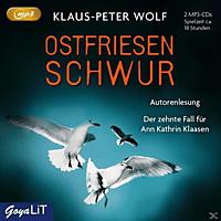 Klaus-peter Wolf - 010 - OSTFRIESENSCHWUR (UNGEKÜRZTE LESUNG) - (CD)