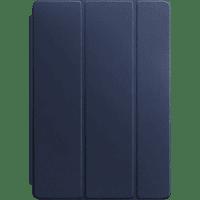 APPLE Leder Smart Cover Tablethülle Bookcover für Apple Echtleder Mitternachtsblau