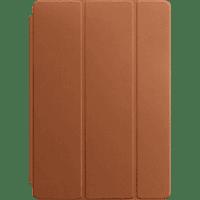 APPLE Leder Smart Cover Tablethülle Bookcover für Apple Echtleder Sattelbraun