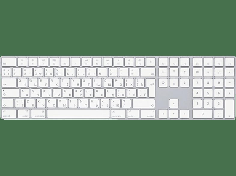 APPLE MQ052RS/A Magic Keyboard mit Ziffernblock RU, Tastatur
