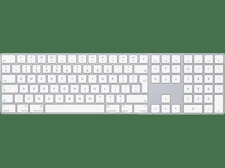 APPLE MQ052Z/A Magic Keyboard mit Ziffernblock INT ENG, Tastatur