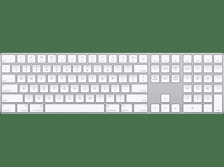 APPLE MQ052LB/A Magic Keyboard mit Ziffernblock US ENG, Tastatur