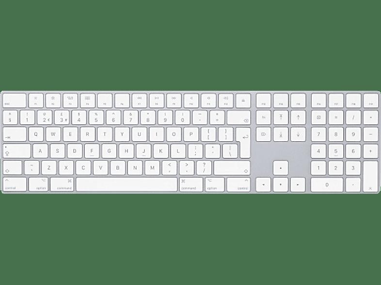 APPLE MQ052B/A Magic Keyboard mit Ziffernblock UK ENG, Tastatur
