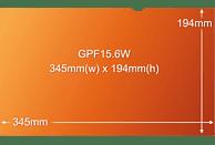 "3M GPF15.6W Blickschutzfilter für Laptop 39,6 cm Weit (entspricht 15.6"" Weit) 16:9, Blickschutzfilter"