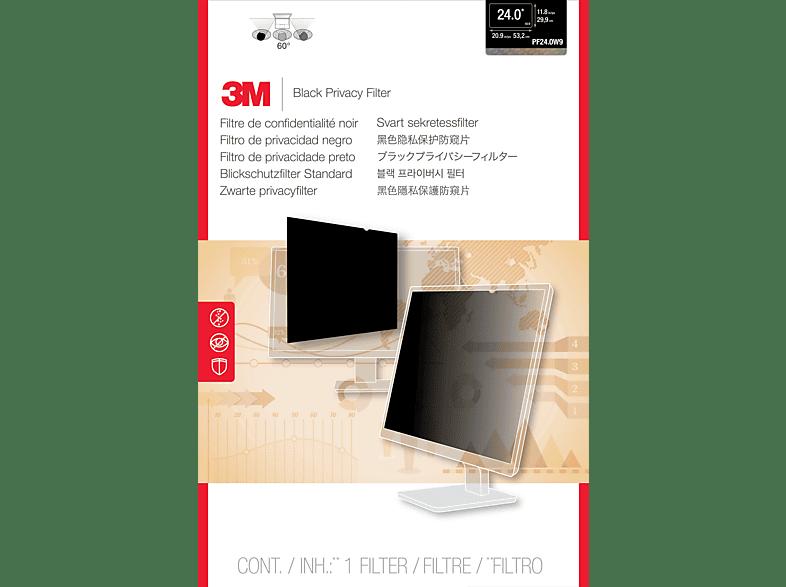 """3M PF24.0W9 Blickschutzfilter Standard für Desktops 61,0 cm Weit (entspricht 24,0"""" Weit) 16:9, Blickschutzfilter"""