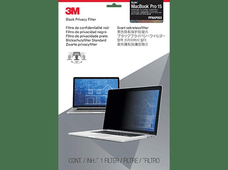 "3M PFNAP003 Blickschutzfilter Standard für Apple® MacBook® Pro 15"" mit Retina Display, Blickschutzfilter"