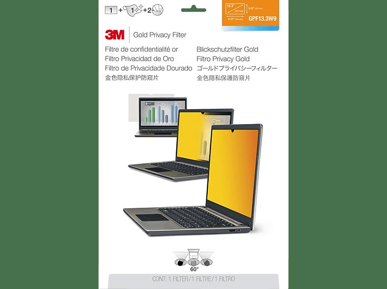 """3M GPF13.3W9 Blickschutzfilter für Notebook 33,8 cm Weit (entspricht 13.3"""" Weit) 16:9, Blickschutzfilter"""