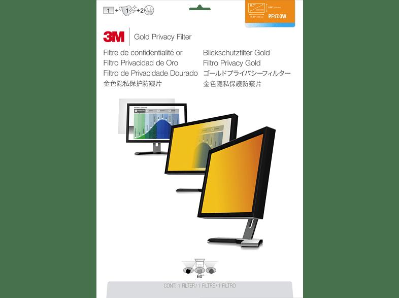 """3M GPF17.0W Blickschutzfilter für Notebook 43,2 cm Weit (entspricht 17.0"""" Weit) 16:10, Blickschutzfilter"""