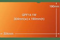 """3M GPF14.1W Blickschutzfilter Gold für Notebook 35,8 cm Weit (entspricht 14.1""""W) 16:10, Blickschutzfilter"""