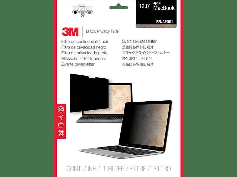 3M PFNAP001 Thin Blickschutzfilter Standard für Apple® MacBook 12 Zoll, Blickschutzfilter