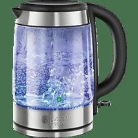 RUSSELL HOBBS 21600-57 RH Wasserkocher , Glas/Edelstahl/Schwarz