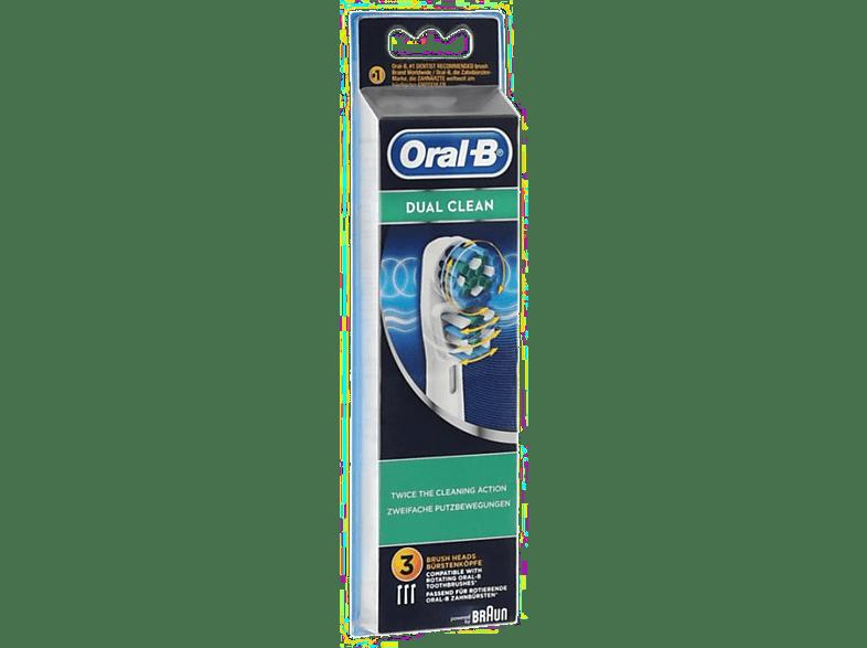ORAL B Brossette Dual Clean (EB417-3)