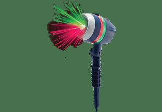 MEDIA SHOP Bewegtes Laserlicht-System Star Shower Laser Magic