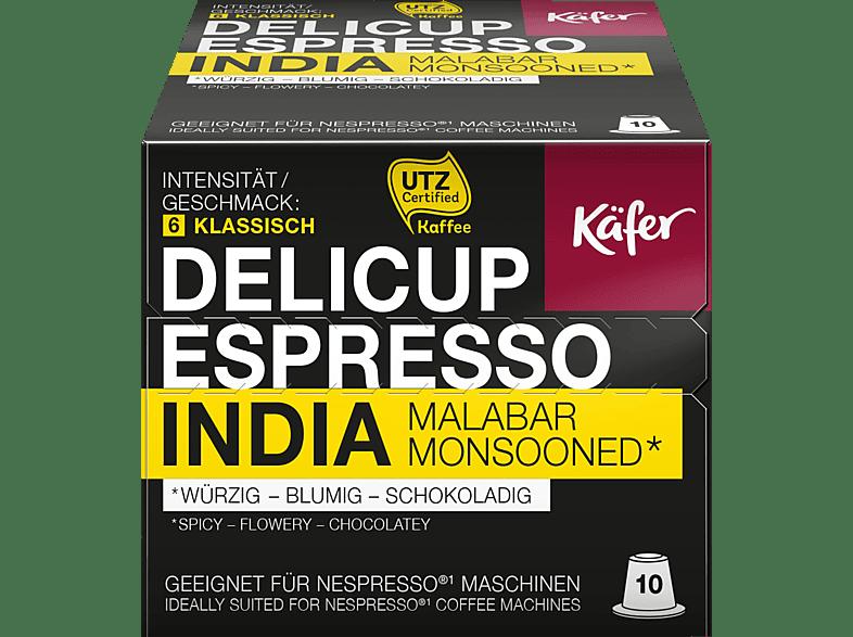 KÄFER Delicup Espresso India Monsoon Kaffeekapseln (Nespresso)