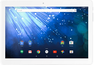 TREKSTOR Surftab Breeze, Tablet, 16 GB, 2 GB RAM, 10.1 Zoll, Android™ 6.0.1 (Marshmallow), Silber/Weiß