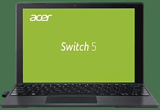 ACER Switch 5 (SW512-52-5819), Convertible mit 12 Zoll Display, Core™ i5 Prozessor, 8 GB RAM, 256 GB SSD, Intel® HD-Grafik 620, Anthrazit (Aluminium A-Cover)