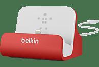 BELKIN Sync & Lade Ladestation, Weiß/Rot