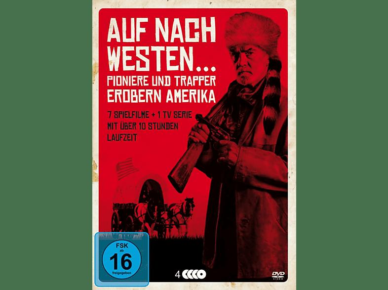 Auf nach Westen-Pioniere u.Trapper erobern Amerika [DVD]