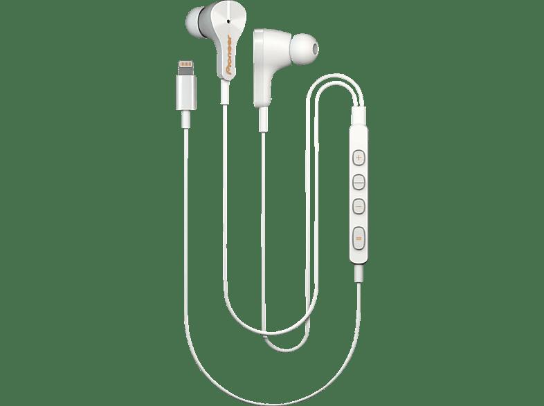 PIONEER RAYZ, In-ear Kopfhörer  Weiß