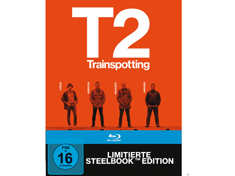T2 Trainspotting (Steelbook) [Blu-ray]