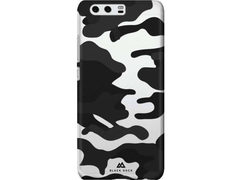 BLACK ROCK Cover Camouflage , Backcover, Huawei, P10, Polycarbonat, Schwarz