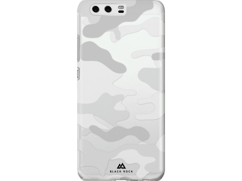 BLACK ROCK Cover Camouflage , Backcover, Huawei, P10, Polycarbonat, Transparent