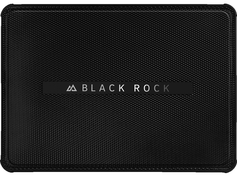 BLACK ROCK Flex Carbon Notebooktasche, Bumper, 9.7 Zoll, Schwarz
