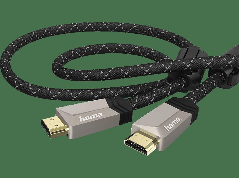 HAMA Premium 0.75 m HDMI Kabel