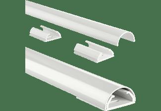 HAMA Kabelkanal Aluminium 1.1m, 33mm, weiß (00179773)