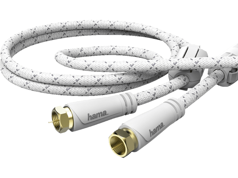 HAMA F-Stecker 3 m SAT-Anschlusskabel